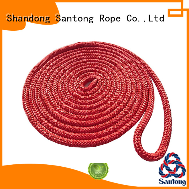 SanTong mooring dock rope online for wake boarding