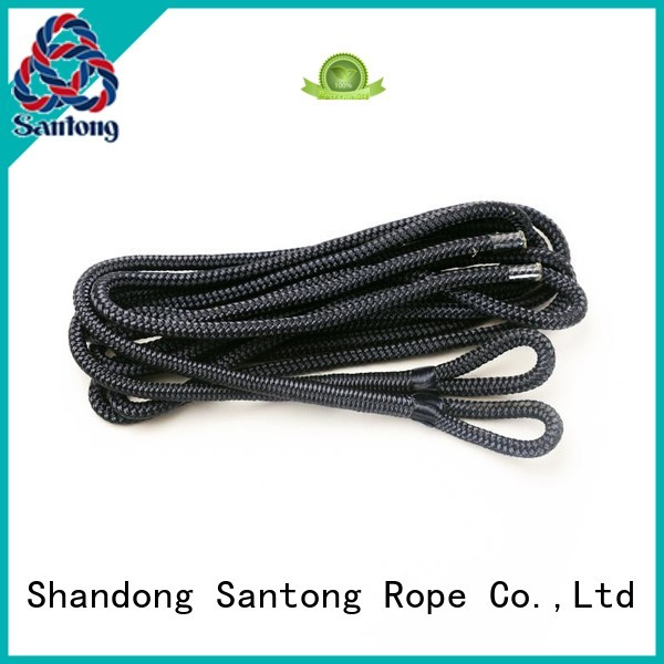SanTong fender rope factory for pilings