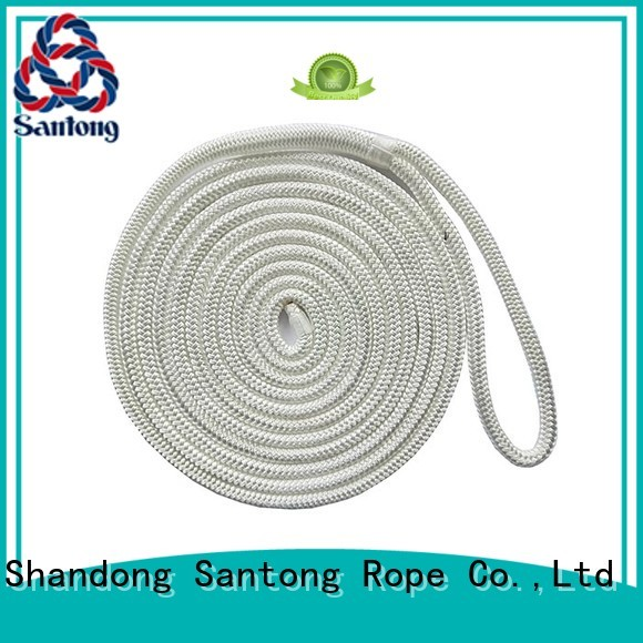 dock rope goldwhite for wake boarding SanTong