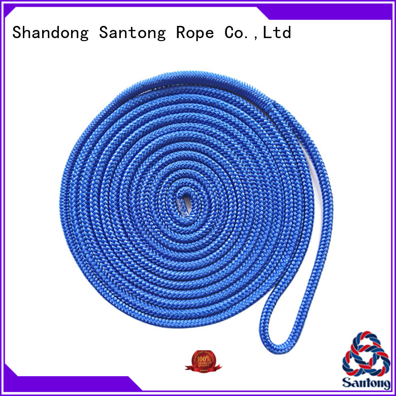 durable boat ropes polyester factory price for tubing