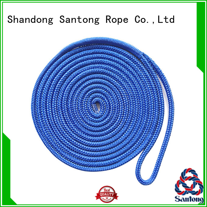 stretch dock lines mooring supplier for tubing