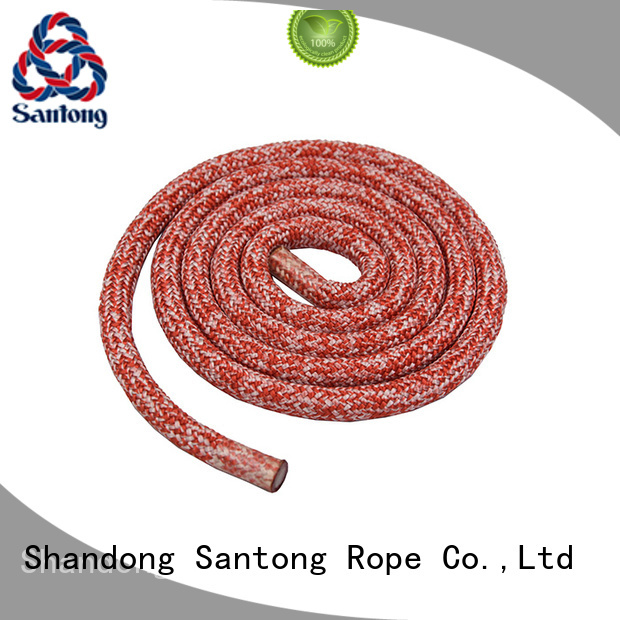 SanTong high strength braided nylon rope with good price for boat
