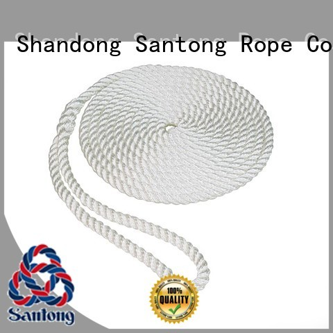 light polyester rope solid with good price for pilings