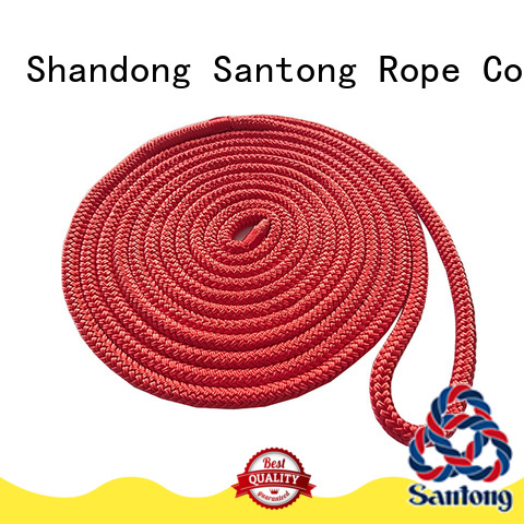 white mooring rope factory price for skiing SanTong