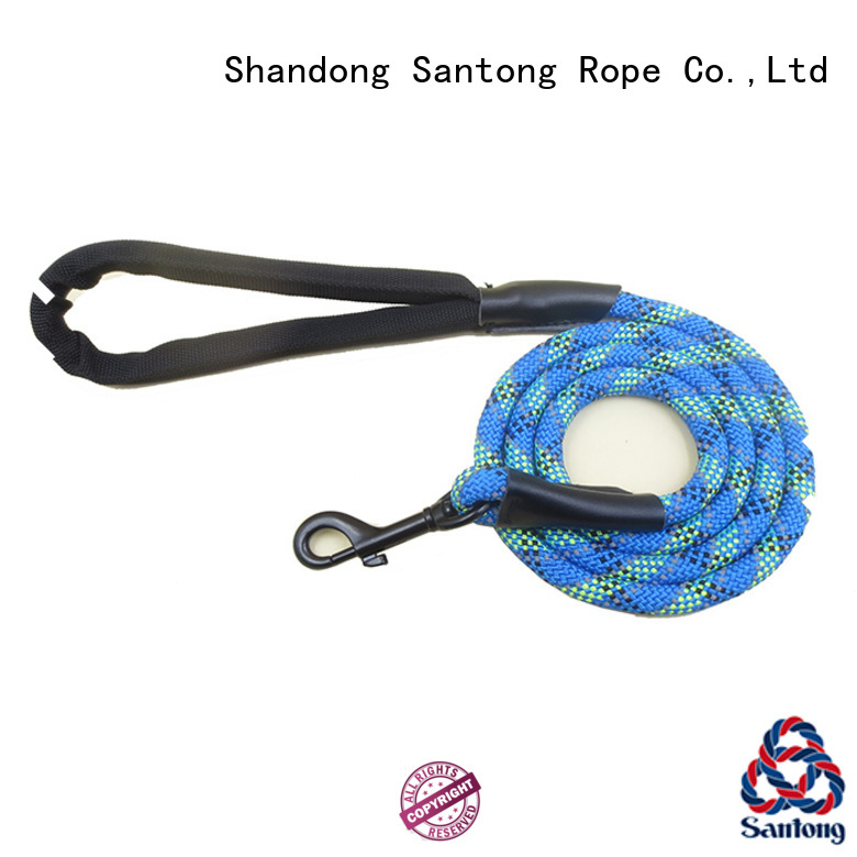 SanTong braided dog leash at discount for pet