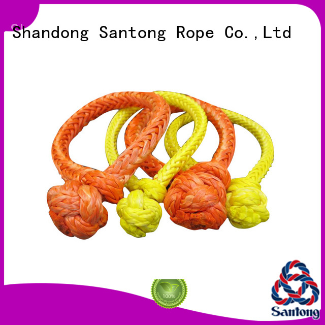 SanTong soft rope shackle from China for outdoor