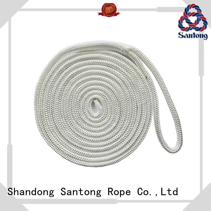 SanTong black braided nylon rope wholesale for tubing
