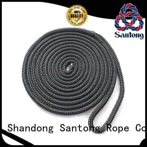 stretch dock rope double supplier for wake boarding