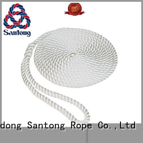 SanTong multifunction rope for sale design for prevent damage from jetties