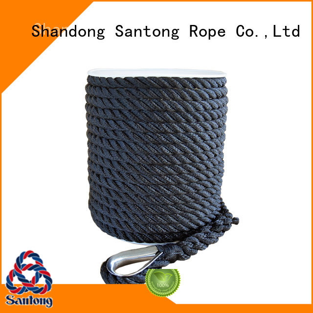 professional anchor rope for boats white factory price for gas