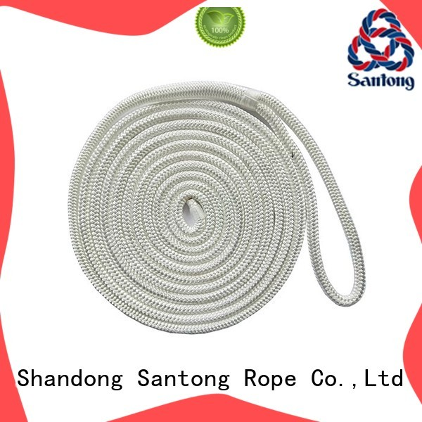 SanTong polyester mooring rope factory price for tubing