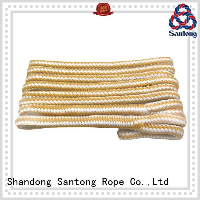 SanTong braided pp rope design for pilings