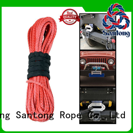 SanTong product synthetic winch line on sale for truck