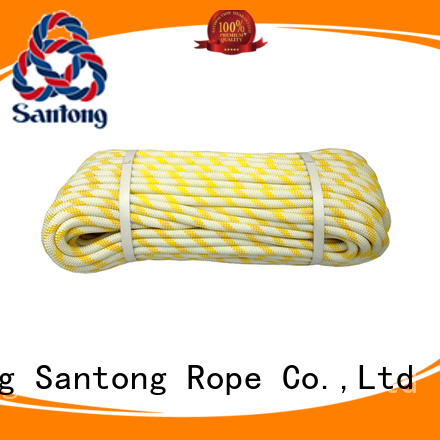SanTong colorful rock climbing rope on sale for caving