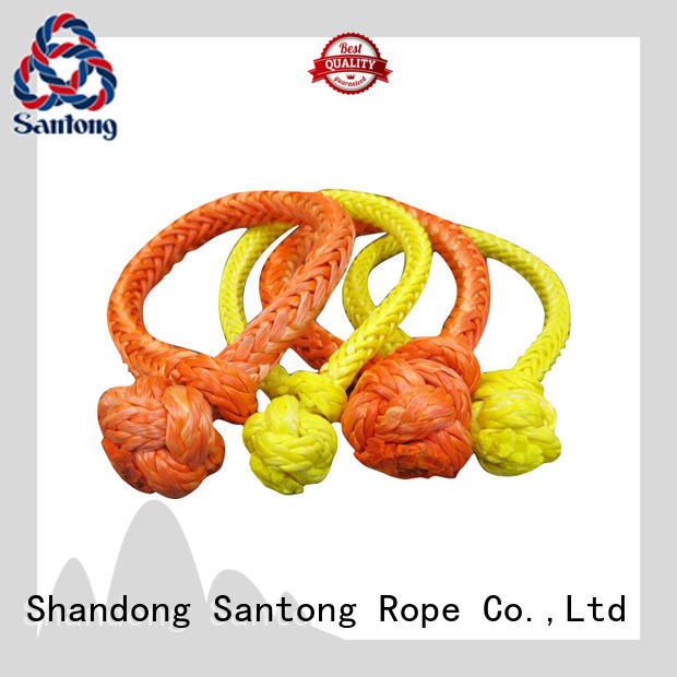 SanTong uhmwpe soft shackle customized for outdoor
