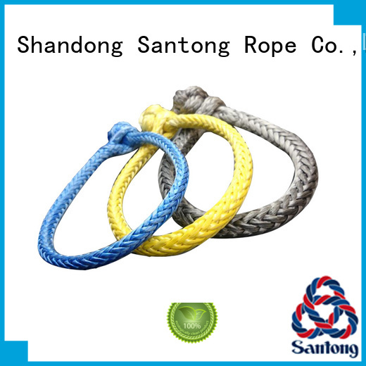 SanTong blue shackle rope manufacturer for outdoor