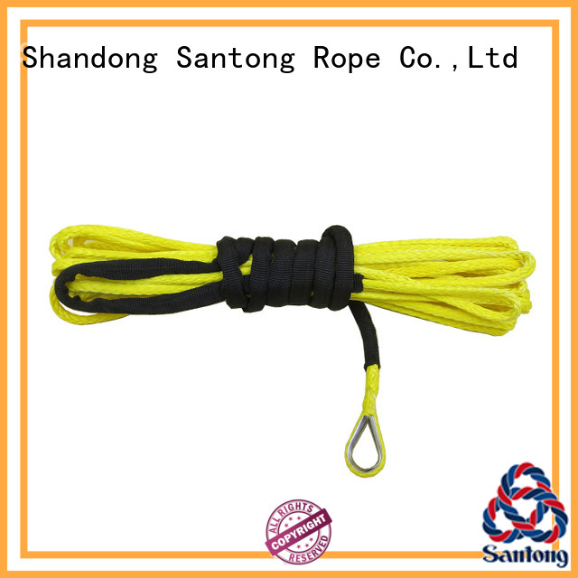 SanTong high quality winch rope manufacturer for car