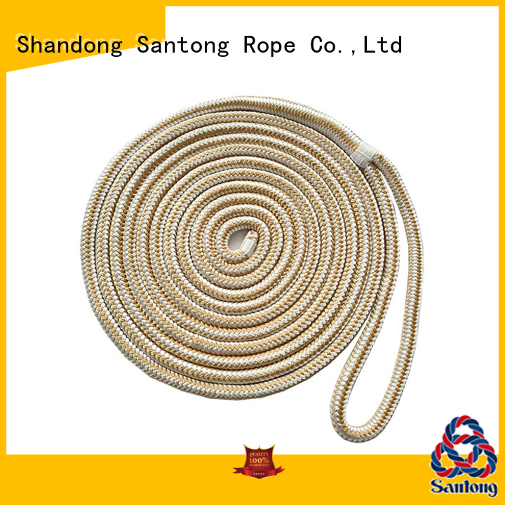 SanTong red braided nylon rope supplier for skiing