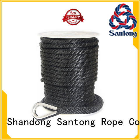 SanTong braid anchor rope for boats factory price