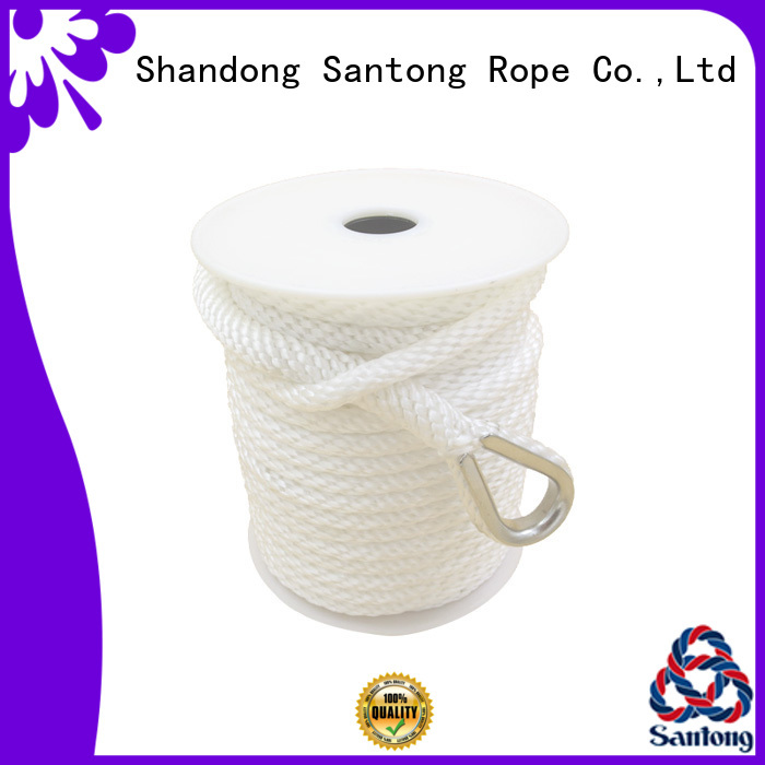 SanTong twisted boat anchor rope wholesale for gas