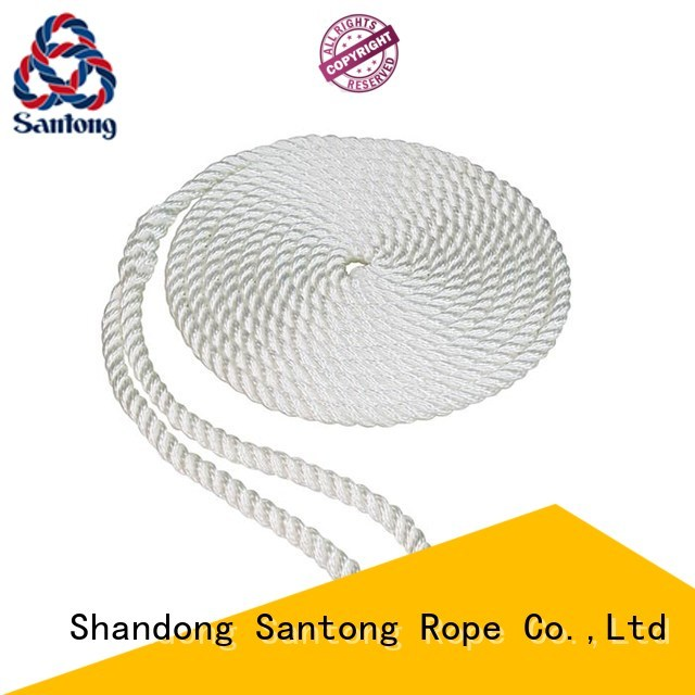 SanTong fender polyester rope inquire now for pilings