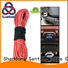 high quality winch rope yellow manufacturer for vehicle
