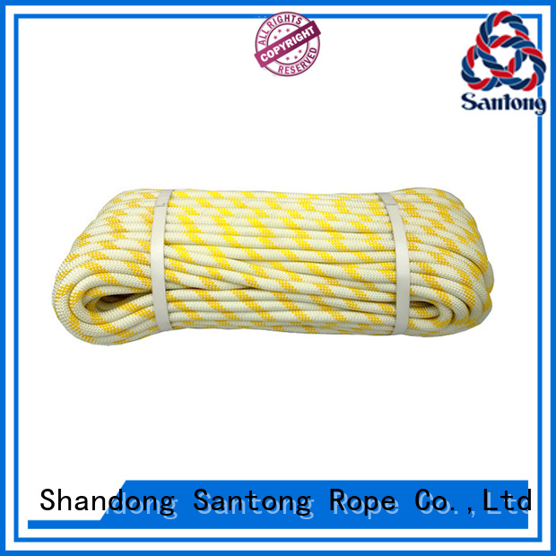 SanTong abrasion resistance climbing rope static on sale for caving