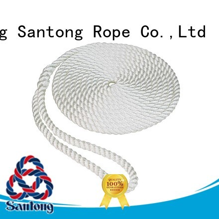 SanTong utility nylon rope with good price for pilings