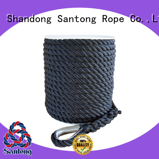 durable anchor rope braided wholesale for gas