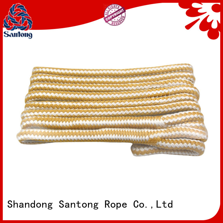 SanTong rope polyester rope with good price for pilings