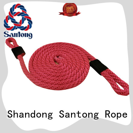 braided custom rope products nylon for pilings SanTong
