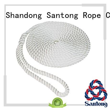 SanTong light pp rope design for docks