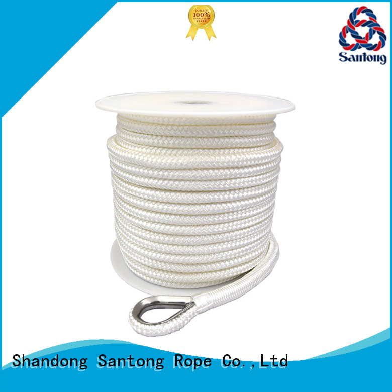 black twisted nylon rope factory price for saltwater SanTong