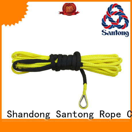 SanTong high quality winch rope types strand for truck
