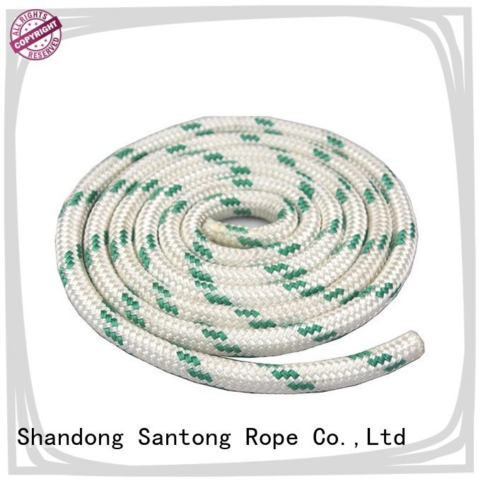 high strength braided nylon rope with good price for sailing