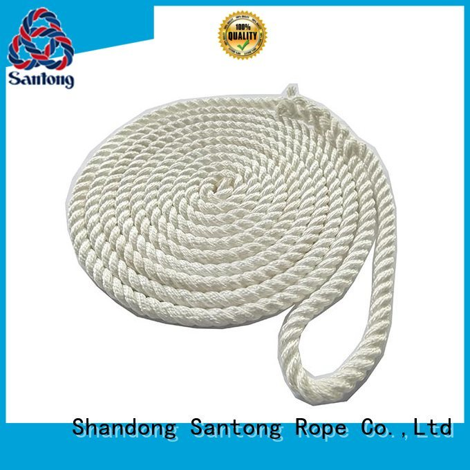 SanTong stronger braided rope factory price for skiing