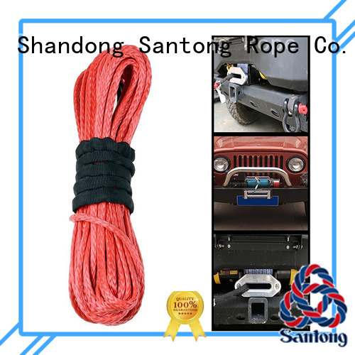 SanTong product synthetic winch line directly sale for car