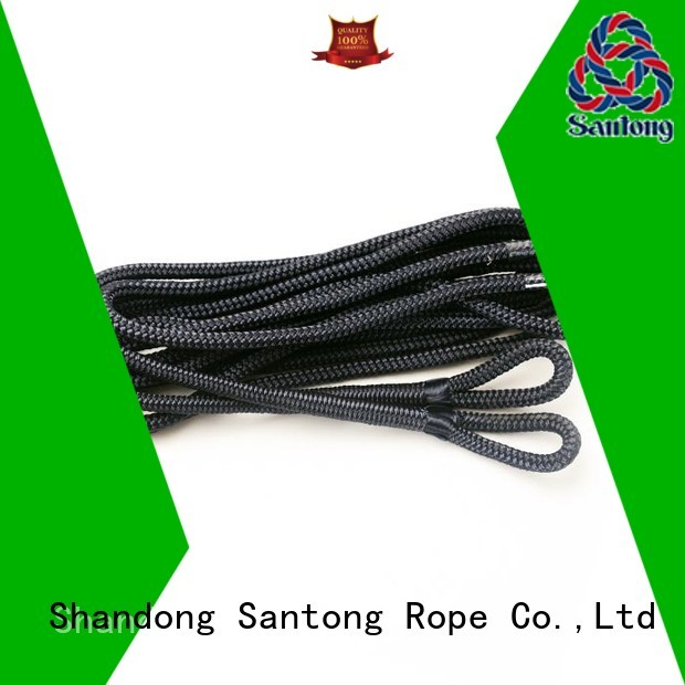 light braided rope factory for prevent damage from jetties