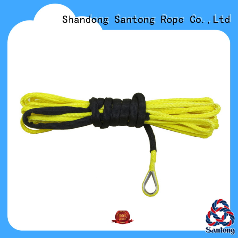 SanTong yellow winch line manufacturer for truck