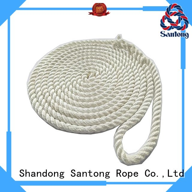 stretch boat ropes braided factory price for tubing