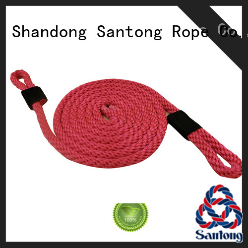 SanTong polyester rope design for prevent damage from jetties