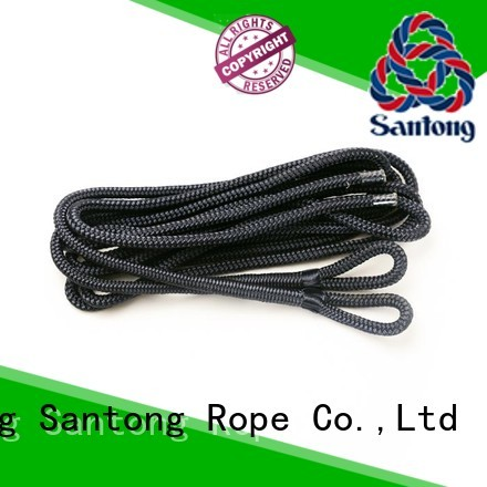 SanTong white boat fender rope inquire now for prevent damage from jetties