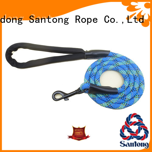 SanTong long lasting braided dog leash factory price for dog