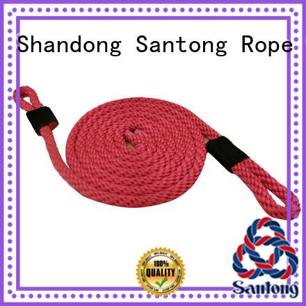 SanTong utility boat fender rope with good price for prevent damage from jetties