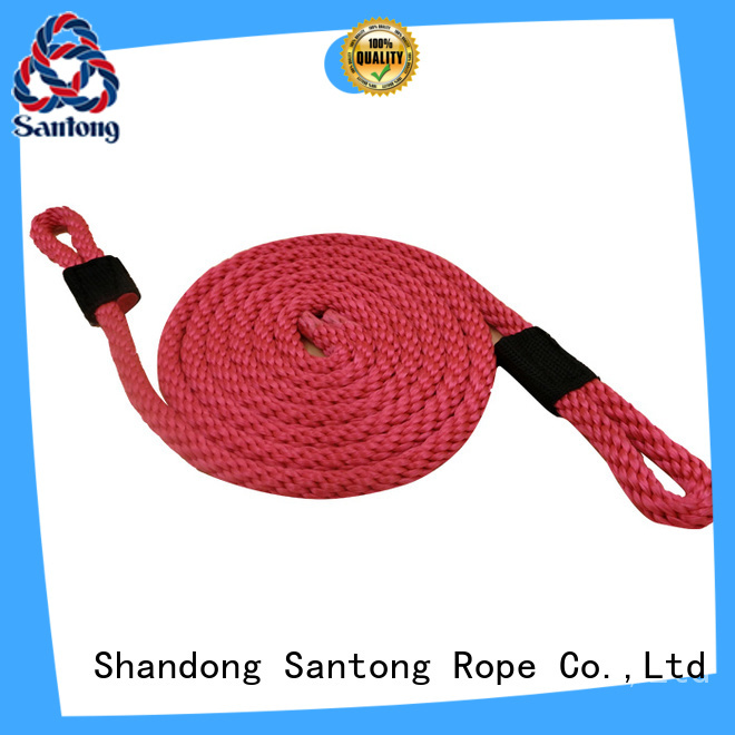 SanTong pp rope with good price for prevent damage from jetties
