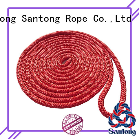 SanTong stretch braided polyester rope red for skiing