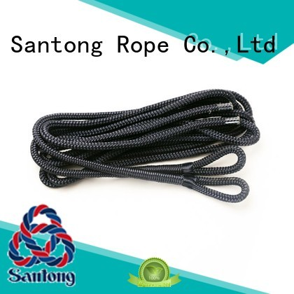 SanTong multipolypropylene pp rope with good price for prevent damage from jetties