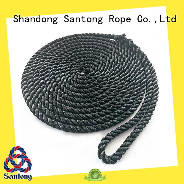 SanTong braided nylon rope factory price for wake boarding