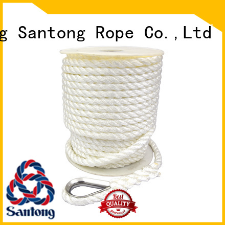 SanTong long lasting nylon anchor line braided for gas