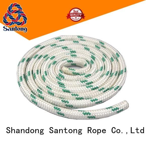 anti-wear braided nylon rope design for sailboat